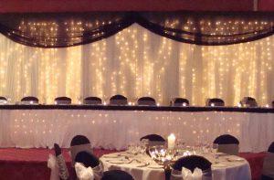 Fairylight Backdrops for Weddings