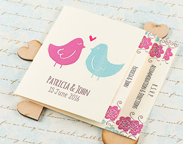 Blossom Handmade Wedding Invitation