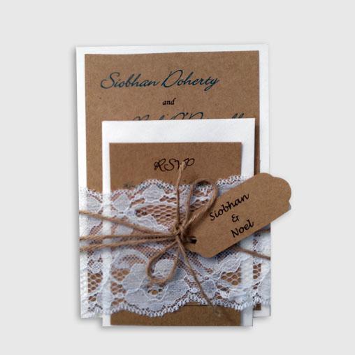 Candise Handmade Wedding Invitation